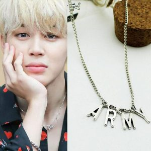 KPOP BTS Album Bangtan Boys Army Necklace