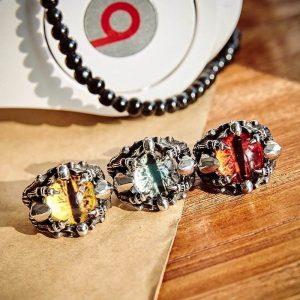 Dragon Eye Ring Zircon Stone 3 Colors for Men