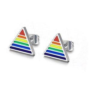 Rainbow Round Stud